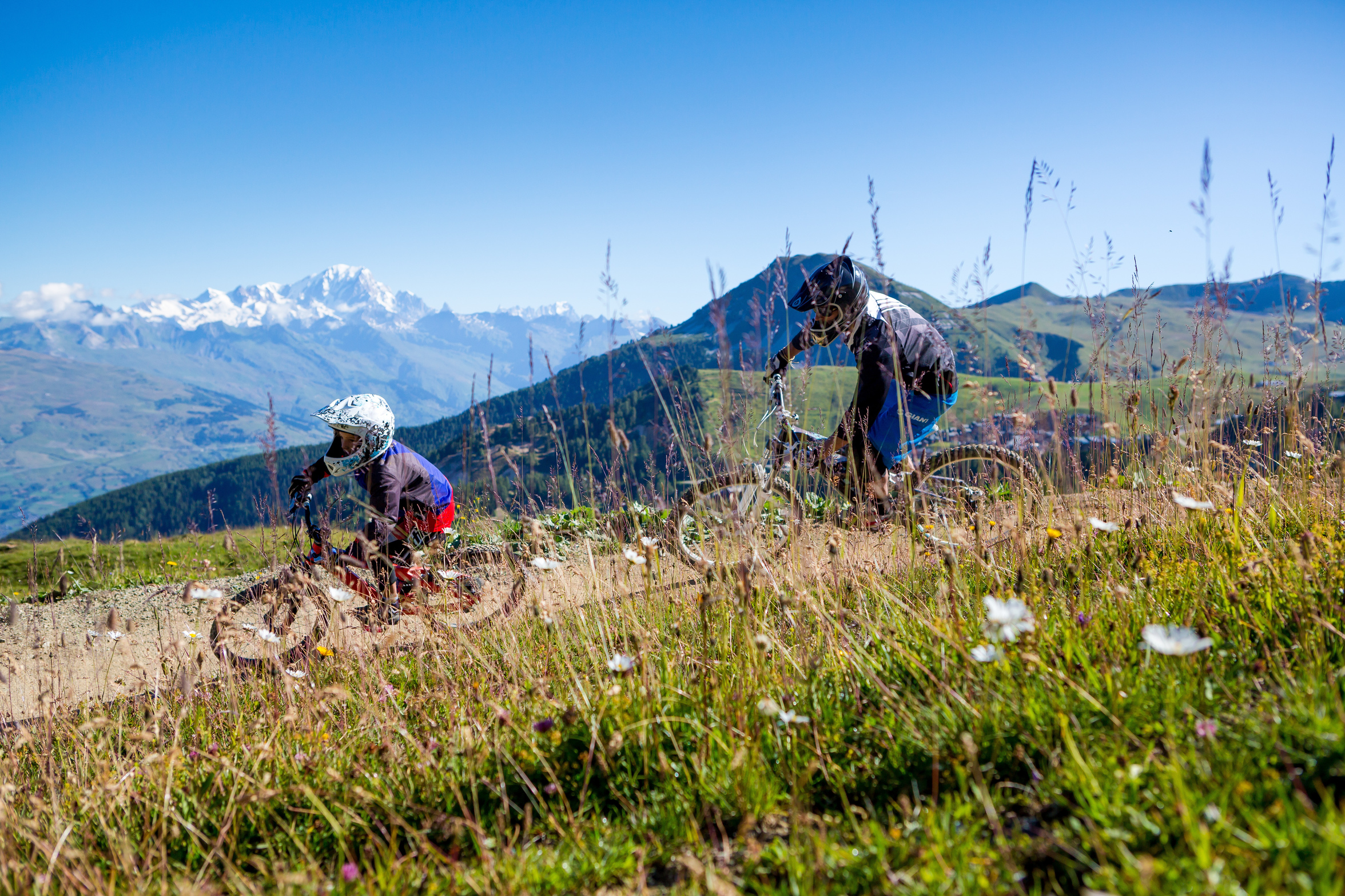 Bike Park in la Plagne. Hurtle down the mountain in VTT. Bike Park Colorado in la Plagne