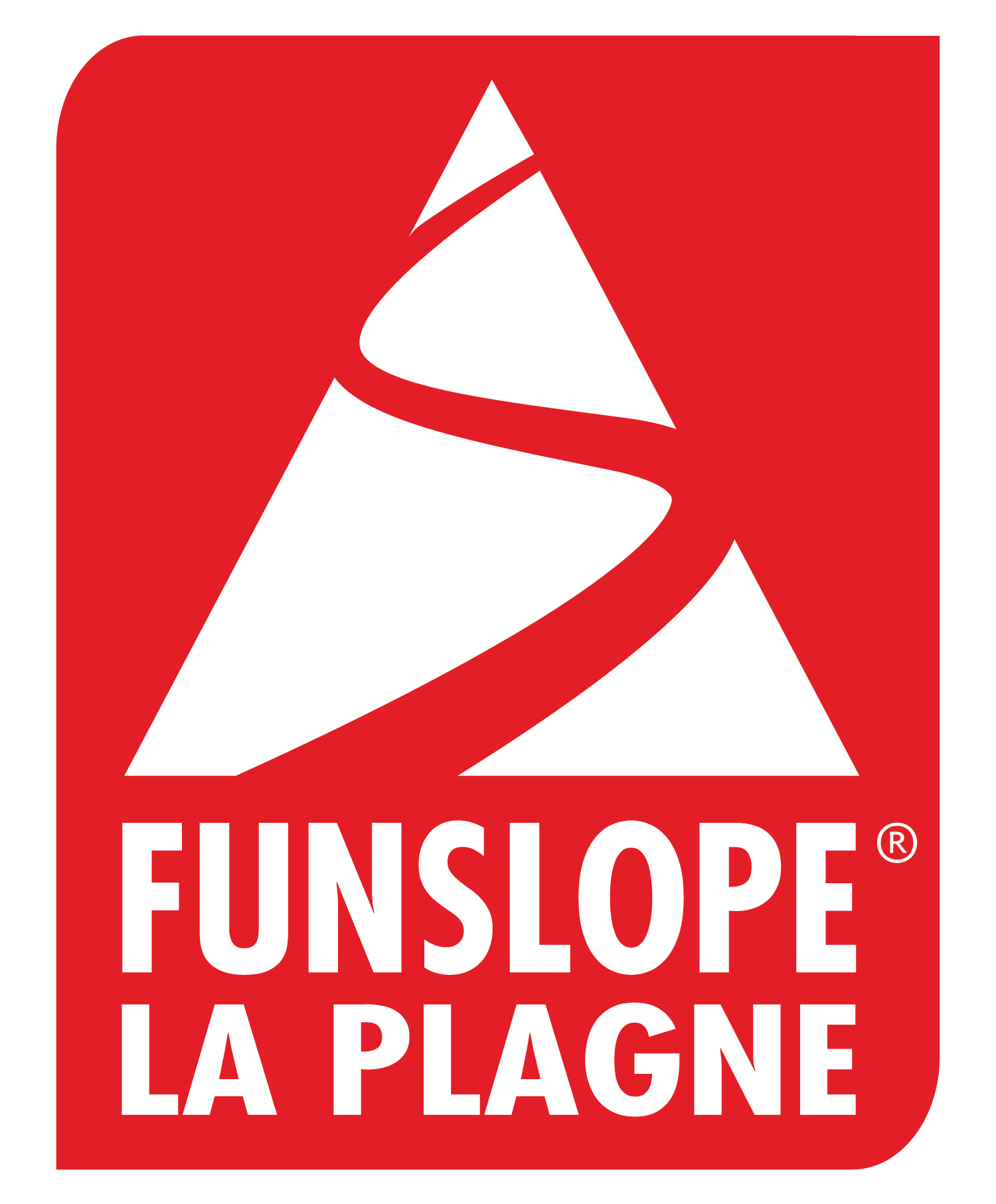 funslope, fun slope, funslope la Plagne, longest fun slope in la Plagne, jump, snails, modules, bumps, turns